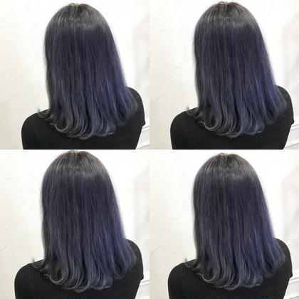 💗ダメージ95%軽減ケアブリーチ✖️透明感カラー➕髪質に合わせたシャンプー➕8stepオリジナルトリートメント💗