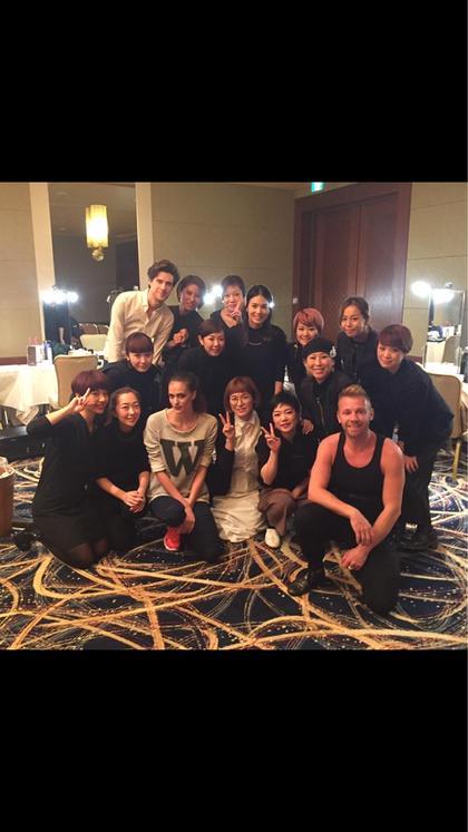 メイクアップチームとして、パリのファッションブランドのディナーショーに参加 Beauty  Bar所属・柳澤のスタイル