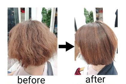 ✚クセ抑制・髪質改善✚話題の酸熱トリートメント!