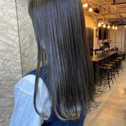 🥉オススメ🥉【メンテナンスカット】+【髪質改善酸熱トリートメント】