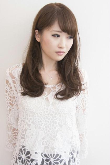 ロングスタイル。  肌が白い方はピンクアッシュがよく似合います。  kuchnia 所属・小坂佳大のスタイル