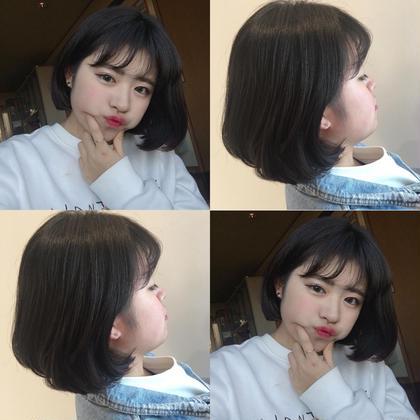 ❤️リアル韓国ヘア❤️オルチャンカット+ツヤ感カラー(ロング料金あり)