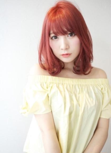 🌈前髪カット&メンテナンスカット+フルカラー+トリートメント🌈