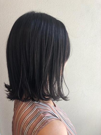 カット&髪質改善トリートメント