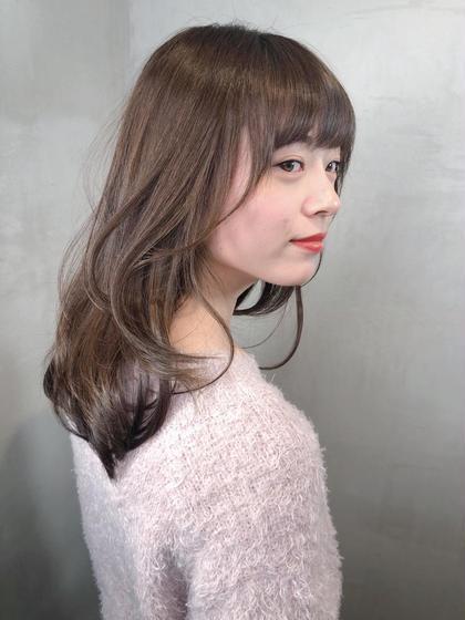 店長カット & 艶透明カラー& 3ステップトリートメント♥️