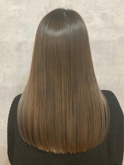 😍ミニモ限定クーポン😍髪質改善縮毛矯正&VIVEオリジナルカラー&ハホニコTR