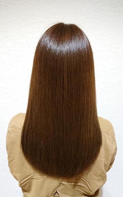 前髪縮毛矯正 &  前髪カット