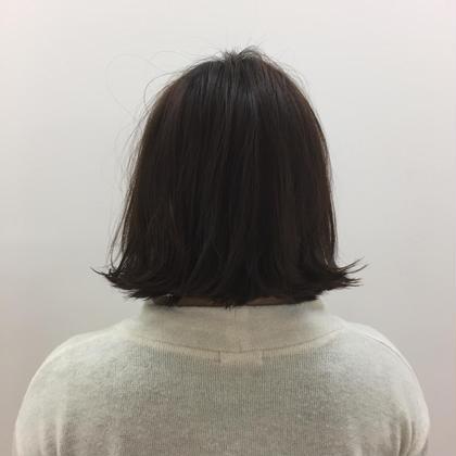 切りっぱなしボブ❤️ cocochie salon所属・藤田詩菜のスタイル