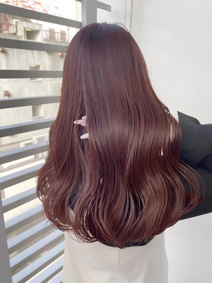 【人気No.3🌈叶える艶髪♡】🤎カット+髪質改善サイエンスアクアinイルミナカラー🤍