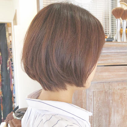 🍭前髪カット🍭+カラー【スタンダードトリートメント付き♫】