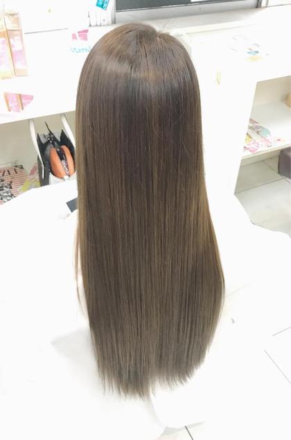 (1)【ブラウン,ブラック】カラー+ツヤ感トリートメント