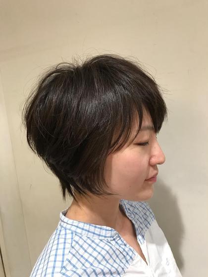 メリハリショート! カラーしなくてもカッコ可愛く! U.hair所属・齊藤章悟のスタイル