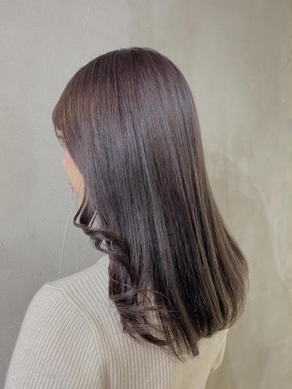 🧚♂️メンテナンスカット+カラー+2stepトリートメント✨🧚♂️ [3回目までok]髪を伸ばしていきたい方に〻