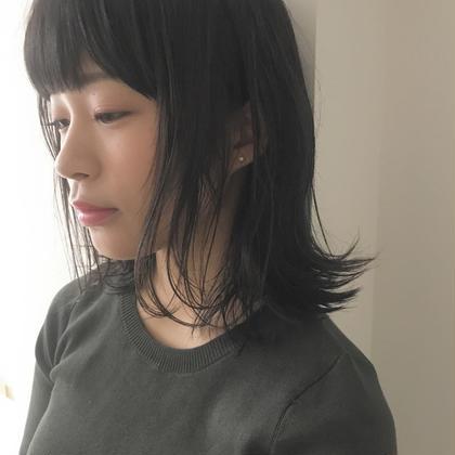 【当日,翌日予約限定】SPイルミナカラー+外国人風カット