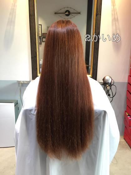 髪質改善2回目の方 C_infinite所属・スタイリストシーインフィニートのスタイル