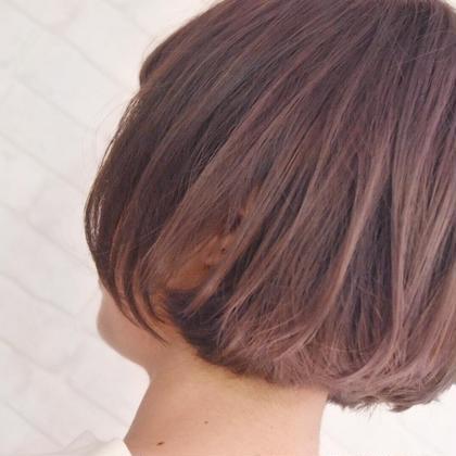 【ミニモ春きゅん】艶カラー&EARTHオリジナルトリートメント