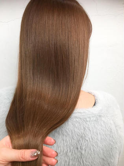 髪質改善🌈🦋ストレートパーマ(カットトリートメント付)