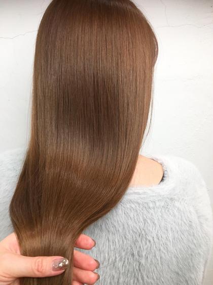 【minimo限定】髪質改善ストレートパーマ(カットトリートメント付)