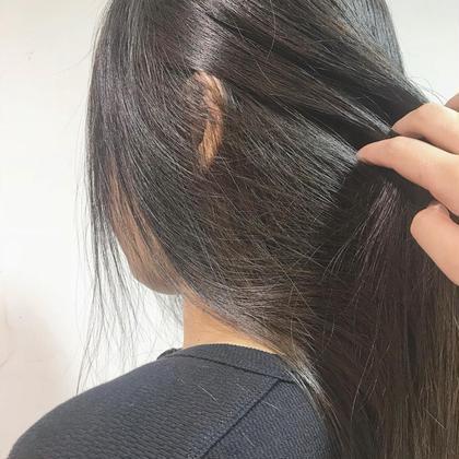 💜自然な仕上がり🧞♀️縮毛矯正+ハホニコトリートメント💜