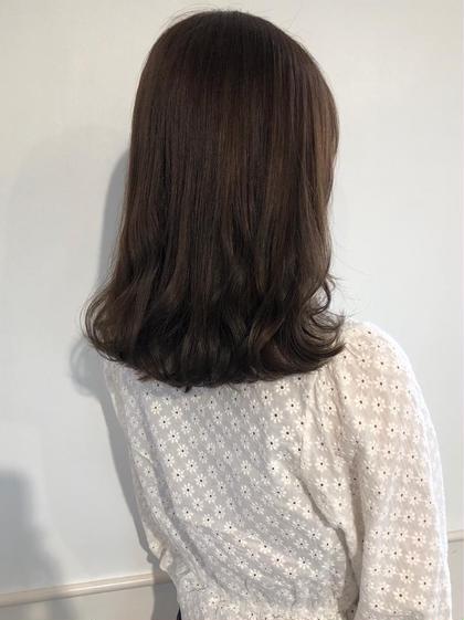 🍐大人気🍐[前髪カット(¥0)]+[似合わせワンカラー]+[ゆるふわアレンジ]