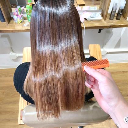 美髪を目指すなら🌸酸熱トリートメント(ハホニコ)+カット ¥13500