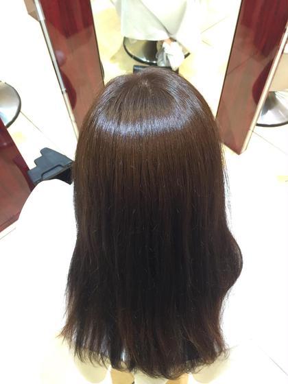 リタッチカラー after 3センチほど伸びた新生毛をカラーリング MICHEL  DERVYN所属・田代翔太郎のスタイル