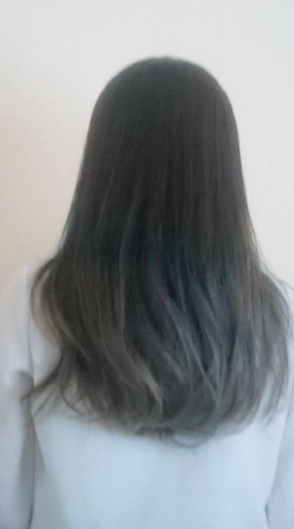 グラデーションカラー(ブルージュ) caro slim & beauty所属・中村亜耶乃のフォト