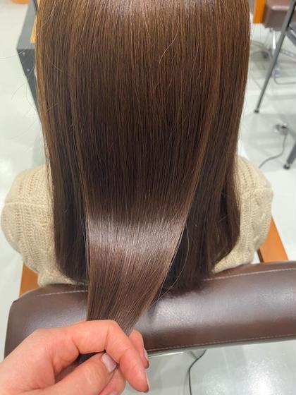 カット+カラー+髪質改善トリートメント💇♀️🍁