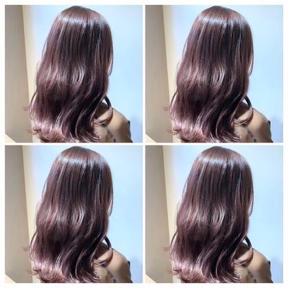 💎前髪カット+フルカラー+トリートメント💎【新宿駅】【ロング料金なし】