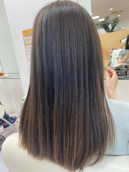 ▪️【Special🌟髪質改善🍃】カット+TOKIO de SINKA縮毛矯正🌼