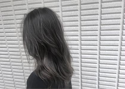 【 イルミナカラー × ハイライト・グラデーション 】  ブリーチ履歴のあるお客様です ♪  高江秀聡のヘアカラーカタログ