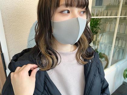 《あざとかわいい♡》💟インナーカラー or ポイントカラー【ブリーチ込み】