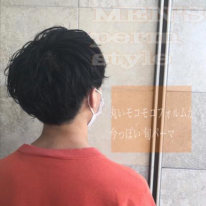 🌸㊗️卒業生応援クーポン㊗️🌸🚹カットパーマ5000円