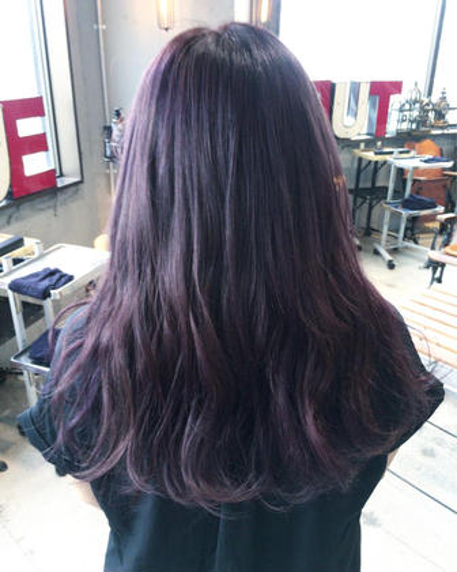 シルキーラベンダーアッシュ✨オリジナルthrowカラーブレンドで透明感も綺麗にでま✨アッシュに飽きた方にオススメです✨ Lietto hair&make所属・中島貴志のスタイル
