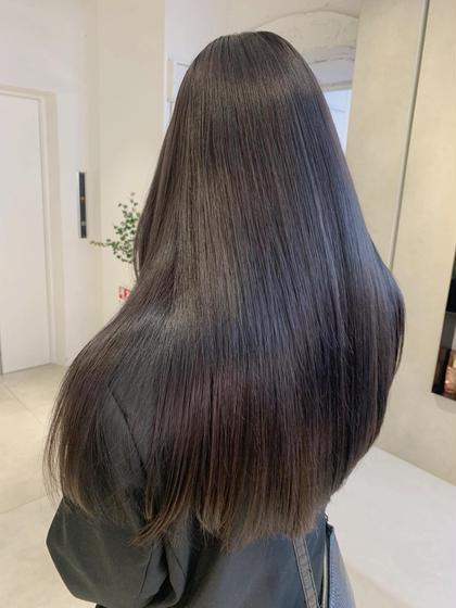 ❤︎満足度No1🦋🌈カット+カラー+髪質改善トリートメント❤︎glass hair treatment🌟🌟