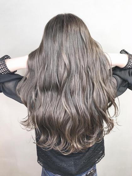 《人気No.1〜透明感のある髪色に✨✨》 イルミナカラー + 前処理トリートメント + 炭酸シャンプー