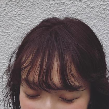 🥀 こだわり似合わせ前髪カット + 自然に流れる前髪〰️ or無造作くるくる前髪➿ どちらも大歓迎!前髪パーマ ❤︎