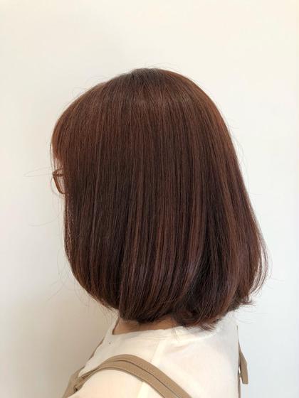 ピンクベージュ✨ NEO Hair 曳舟店所属・鶴岡大樹のスタイル