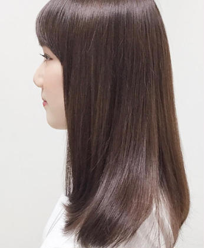 ⭐︎人気No.2おすすめ美髪コース⭐︎似合わせ小顔カット&艶オーガニックカラー✨最上級トリートメント💖