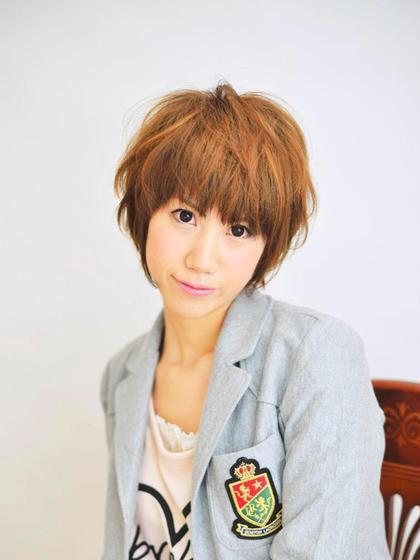 cute  ×  short amani  en所属・TANAKAWATARUのスタイル