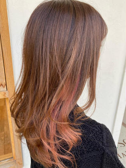 『リピーター限定 カット+カラー+髪質改善TR』