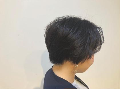 ☺︎前下がりショートボブ  尾籠 美幸(オゴモリ ミユキ)のショートのヘアスタイル