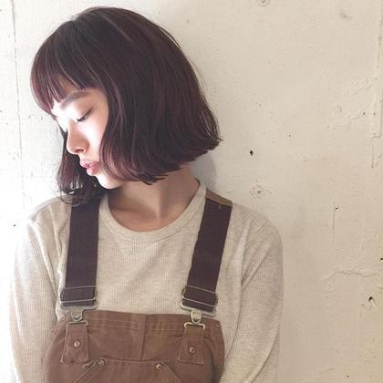 カットカラートリートメント meuvle所属・tanakayujiroのスタイル