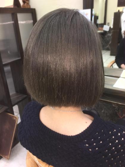 ブリーチしてグレージュ✨ hair   LORAN所属・hairLORANのスタイル