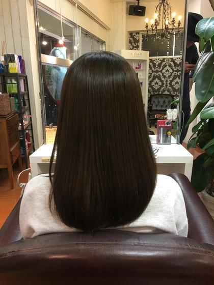イルミナカラー‖フォレスト&オーシャン hair  & spa an contour所属・足立依世のスタイル