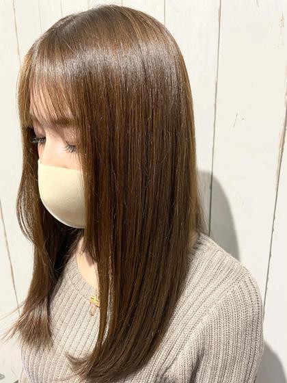 【🦋艶髪🦋】カット +カラー+ナノスチームTOKIO TR【5STEP】