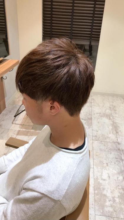 後ろはスッキリ前は重めのマッシュ 個人的に一番オススメのスタイルです\(^^)/ 須藤まやのメンズヘアスタイル・髪型