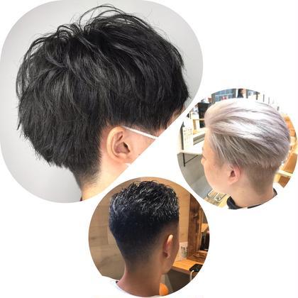 men's 限定 Cut & 眉カット/ヘッドスパ