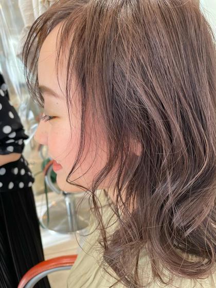 𓍯10.11日限定‼️人気メニュー🌼カット➕艶髪カラー𓍯