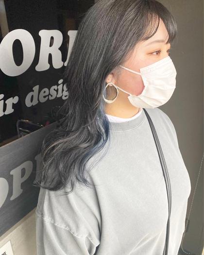 【minimo*平日限定】インナーカラー + 全体カラー